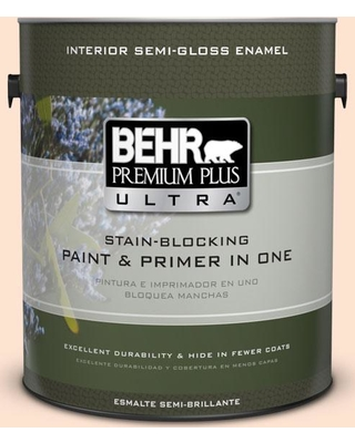 2020 Sales On Behr Ultra 1 Gal 280c 1 Champagne Ice Extra Durable Semi Gloss Enamel Interior Paint And Primer In One