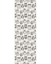 """World Menagerie Nobhill Removable Nursery Cute Owls 6.25' L x 25"""" W Peel and Stick Wallpaper Roll CJ293054"""