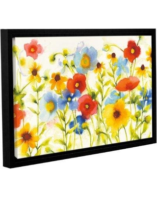 "August Grove 'Americana Meadow I Crop' Framed Print on Canvas AGGR2753 Size: 24"" H x 36"" W x 2"" D"