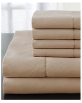 Solid Luxury 1200 Thread Count 6-Pc. Queen Sheet Set - Taupe
