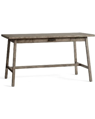 size 40 80c53 d0497 Mateo Large Rustic Desk, Salvaged Gray