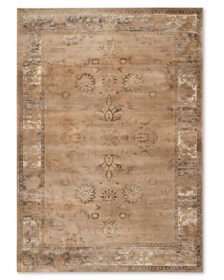Safavieh Vintage Olivia 6-Foot 7-Inch x 9-Foot 2-Inch Area Rug in Taupe
