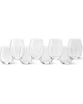 "Riedel ""O"" Mixed Chardonnay & Cabernet Wine Glasses, Pay-6 Get 8 Set"