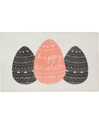 Mohawk Home Prismatic Easter Eggs EverStrand Rug - 2'6'' x 4'2'', Beig/Green, 2.5X4 Ft