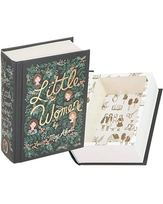 Handmade Book Safe - Little Women by Louisa May Alcott (Magnetic Closure)