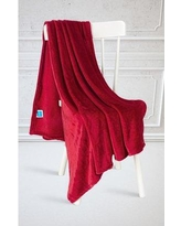 Charlton Home Kelling Blanket BF064500 Color: Burgundy, Size: Throw