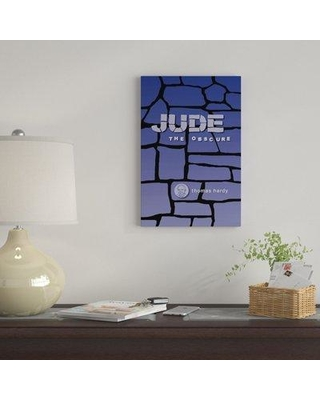 "East Urban Home 'Jude The Obscure By Robert Wallman' By Creative Action Network Graphic Art Print on Wrapped Canvas FVNF4340 Size: 12"" H x 8"" W x 0.75"" D"