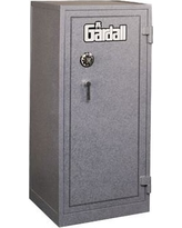 """Gardall 55.5"""" H Two Hour Fire Resistant Record Safe 4820 Finish: Gray, Lock: Group II Key-Op Lock"""