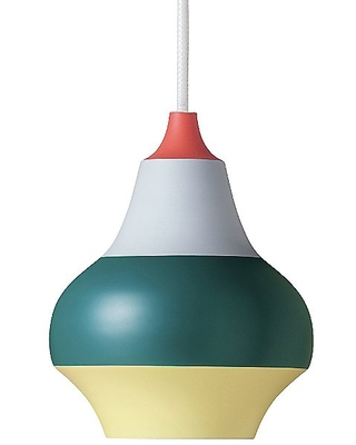 Cirque Pendant Light by Louis Poulsen - Color: Turquoise - Finish: Red Top - (5741919811)