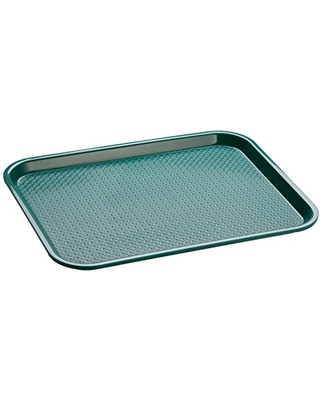 Crestware Fast Food Tray 14 by 18-Inch, Green
