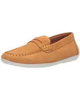 Driver Club USA Kids Boys//Girls Leather Driving Loafer with Penny Detail