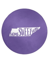 Spectacular Deals On Home Sweet Tennessee Poly Chenille Rug East Urban Home Rug Size Round 5