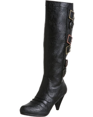 Not Rated Women's Tipsy Boot,Black,8.5 M US
