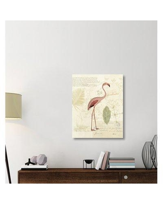 """East Urban Home 'Floridian I' Graphic Art Print on Canvas ERBR1827 Size: 35"""" H x 28"""" W x 1.5"""" D"""