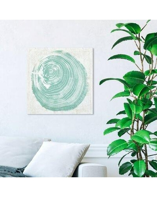 """House of Hampton® 'Legno in Verde' Graphic Art Print X113206138 Format: Wrapped Canvas Size: 20"""" H x 20"""" W x 2"""" D"""