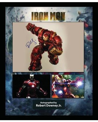 LuxeWest 'Hulkbuster Collage' Framed Graphic Art Print Poster LWMV1-01380