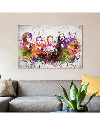 """East Urban Home 'The Hip' Graphic Art Print on Canvas ERBR0315 Size: 26"""" H x 40"""" W x 0.75"""" D"""