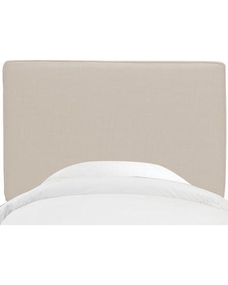 Rosecliff Heights Middleburg Linen Upholstered Headboard ROHE4487 Size: Full Color: Talc