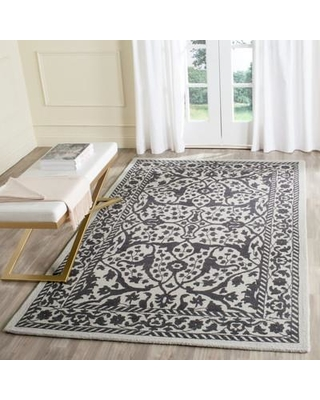 Ophelia & Co. Ellicottville Wool Silver/Gray Area Rug OPCO2804 Rug Size: Rectangle 8' x 10'