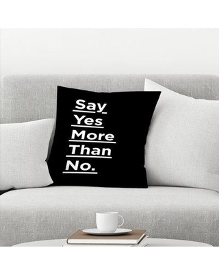Amazing Winter Deal East Urban Home Say Yes More Than No Throw