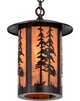 Special Prices On Etonbury 1 Light Lantern Drum Pendant Millwood Pines Finish Silver Mica Aged Copper