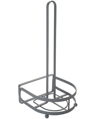 Kitchen Details Industrial Collection Paper Towel Holder, Gray