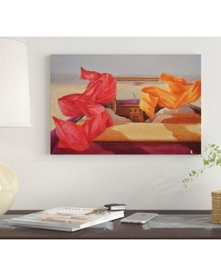 """East Urban Home 'Open Road' by Lincoln Seligman Graphic Art Print on Wrapped Canvas EUME3898 Size: 18"""" x 26"""" x 0.75"""""""