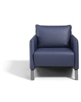 Great Prices For Maley 24 5 W Top Grain Leather Armchair Union Rustic Upholstery Color Dark Blue Genuine Leather