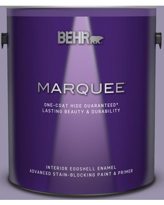 BEHR MARQUEE 1 gal. #650F-4 Delectable Eggshell Enamel Interior Paint and Primer in One