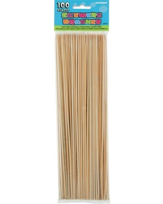Bamboo Skewers, 12in, 100ct