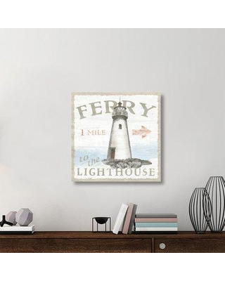 """East Urban Home 'Seaside Life IV' Graphic Art Print on Canvas UBAH5741 Size: 30"""" H x 30"""" W x 1.5"""" D"""