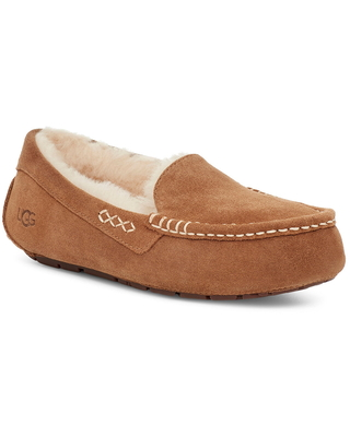 Women's UGG Ansley Water Resistant Slipper, Size 5 M - Brown