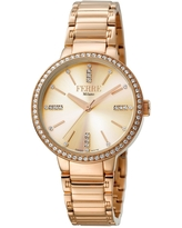 FERRE MILANO Women's Donna Giada Stainless Steel Watch, 34mm in Rose Gold at Nordstrom Rack