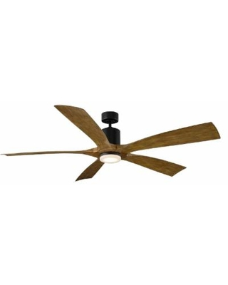 Modern Forms Aviator Outdoor Rated 70 Inch Ceiling Fan - FR-W1811-70-MB/DK