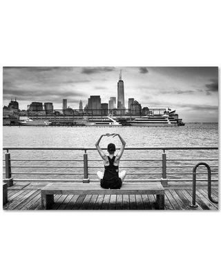 """Trademark Art 'Momentum' Photographic Print on Wrapped Canvas 1X02600-C Size: 12"""" H x 19"""" W"""