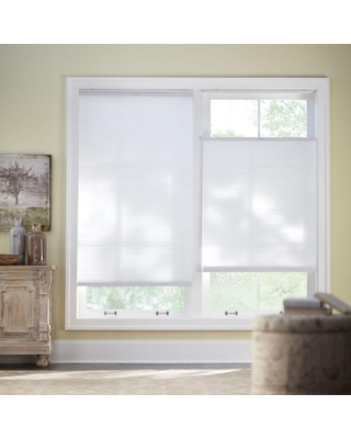 Home Decorators Collection Snow Drift Top Down Bottom Up Cordless Cellular Shade - 42.125 in. W x 48 in. L (Actual Size: 41.75 in. W x 48 in. L)