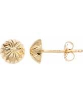 Forever 14K Dome Stud Earrings, Women's, Gold