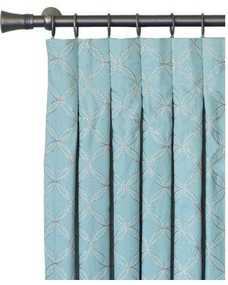 """Eastern Accents Magnolia Inverted Pinch Pleat Single Curtain Panel EAN6996 Size: 40"""" W x 108"""" L"""