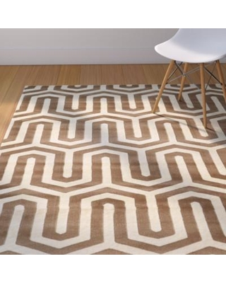 Langley Street Hennings Ivory/Beige Area Rug LGLY2647 Rug Size: Rectangle 8' x 10'