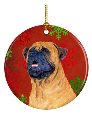 Deals On Mastiff Snowflakes Holiday Christmas Ceramic Hanging Figurine Ornament The Holiday Aisle