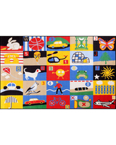 Concord Global Trading Fun Time Collection Every Day Multi Area Rug, One Size , Multiple Colors
