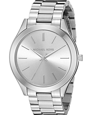 56400e7e19be Can t Miss Bargains on Michael Kors Women s Runway Silver-Tone Watch ...