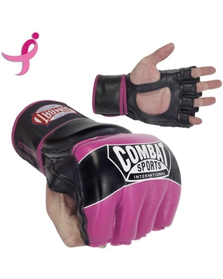Combat Sports Pro Style MMA Gloves Small Pink