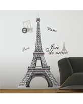 RoomMates Eiffel Tower Peel & Stick Giant Wall Decal, Multi-Colored