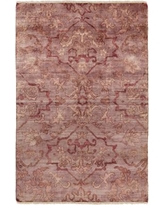 "Astoria Grand San Michele Hand-Knotted Pink Area Rug ASTG1097 Rug Size: Rectangle 5'6"" x 8'6"""