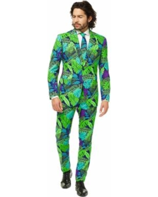 98c878f7a2a9 Amazing Savings on Men's OppoSuits Slim-Fit Juicy Jungle Suit & Tie ...