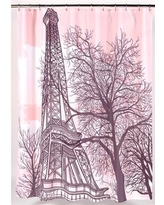 Ben and Jonah Tour Eiffel Shower Curtain FSC13-TE
