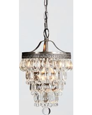 Summer shopping special clarissa crystal drop small round clarissa crystal drop small round chandelier petite 9 diameter aloadofball Image collections