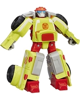 Playskool Heroes Transformers Rescue Bots Heatwave the Fire-Bot Converting Toy Robot Action Figure, Toys for Kids Ages 3 and Up
