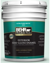 Get This Deal On Behr Marquee 5 Gal M420 1 Sparkling Brook Semi Gloss Enamel Exterior Paint Primer